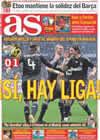 Portada diario AS del 5 de Abril de 2009