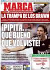 Portada diario Marca del 5 de Abril de 2009