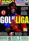 Portada Mundo Deportivo del 5 de Abril de 2009