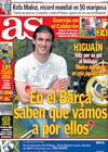 Portada diario AS del 6 de Abril de 2009