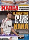 Portada diario Marca del 6 de Abril de 2009