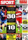 Portada diario Sport del 6 de Abril de 2009