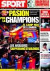 Portada diario Sport del 7 de Abril de 2009
