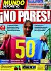 Portada Mundo Deportivo del 7 de Abril de 2009