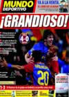 Portada Mundo Deportivo del 9 de Abril de 2009
