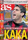 Portada diario AS del 10 de Abril de 2009