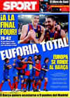 Portada diario Sport del 10 de Abril de 2009