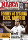 Portada diario Marca del 11 de Abril de 2009