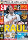 Portada diario AS del 12 de Abril de 2009