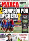 Portada diario Marca del 12 de Abril de 2009