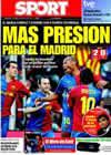 Portada diario Sport del 12 de Abril de 2009