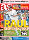 Portada diario AS del 13 de Abril de 2009