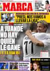 Portada diario Marca del 13 de Abril de 2009