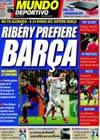 Portada Mundo Deportivo del 13 de Abril de 2009
