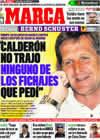 Portada diario Marca del 14 de Abril de 2009