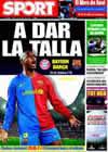 Portada diario Sport del 14 de Abril de 2009