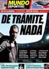Portada Mundo Deportivo del 14 de Abril de 2009