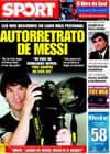 Portada diario Sport del 17 de Abril de 2009