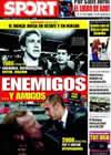Portada diario Sport del 18 de Abril de 2009