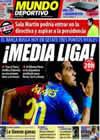 Portada Mundo Deportivo del 18 de Abril de 2009