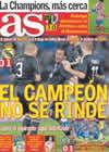 Portada diario AS del 19 de Abril de 2009