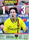 Portada Mundo Deportivo del 19 de Abril de 2009