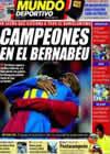 Portada Mundo Deportivo del 20 de Abril de 2009