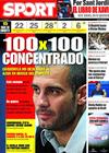 Portada diario Sport del 21 de Abril de 2009