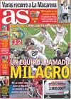 Portada diario AS del 22 de Abril de 2009