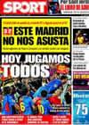 Portada diario Sport del 22 de Abril de 2009
