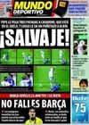 Portada Mundo Deportivo del 22 de Abril de 2009