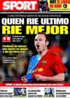 Portada diario Sport del 23 de Abril de 2009