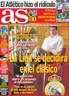 Portada diario AS del 24 de Abril de 2009