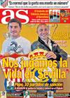 Portada diario AS del 25 de Abril de 2009
