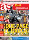 Portada diario AS del 27 de Abril de 2009