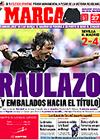 Portada diario Marca del 27 de Abril de 2009