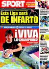 Portada diario Sport del 27 de Abril de 2009
