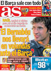 Portada diario AS del 28 de Abril de 2009