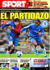 Portada diario Sport del 28 de Abril de 2009