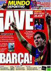 Portada Mundo Deportivo del 28 de Abril de 2009