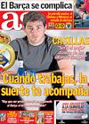 Portada diario AS del 29 de Abril de 2009