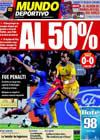 Portada Mundo Deportivo del 29 de Abril de 2009