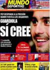 Portada Mundo Deportivo del 30 de Abril de 2009