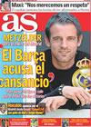 Portada diario AS del 1 de Mayo de 2009