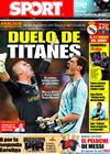 Portada diario Sport del 1 de Mayo de 2009