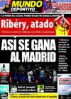 Portada Mundo Deportivo del 1 de Mayo de 2009