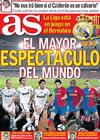 Portada diario AS del 2 de Mayo de 2009