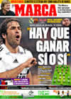 Portada diario Marca del 2 de Mayo de 2009