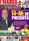Portada diario Marca del 4 de Mayo de 2009