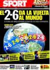 Portada diario Sport del 4 de Mayo de 2009
